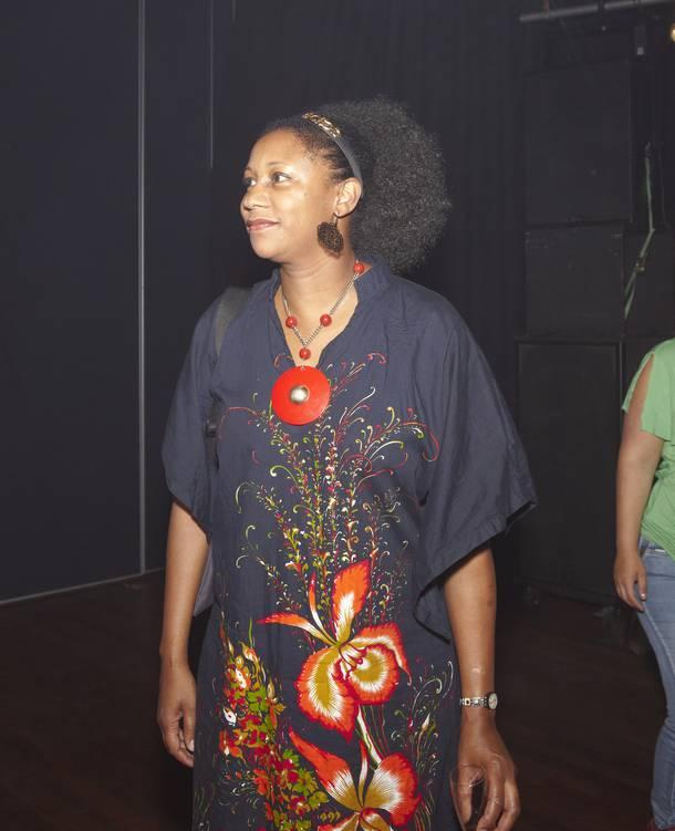 Artistiek directeur van het MC Theater Marjorie Boston