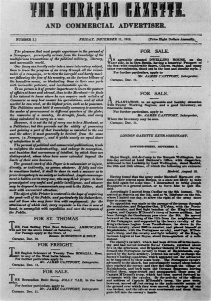 The Curacao Gazette